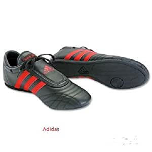 Adidas Men S Martial Arts Shoes Black W Red Stripes