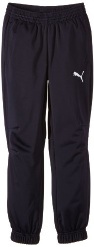 PUMA Kinder Hose Trikot Pants, new navy-White, 152, 653974 06