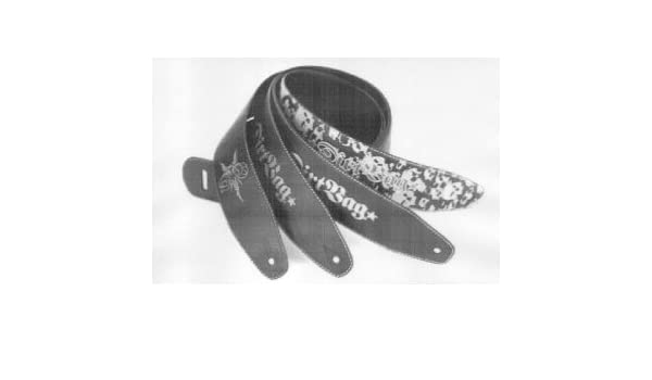 Amazon.com: CORREA GUITARRA ELECTRICA - Dunlop (DRB S01) Dirtbag (Two Sided) Negra: Musical Instruments