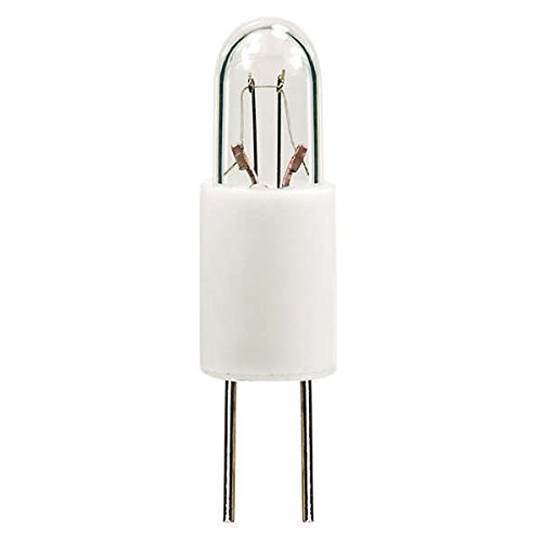 PLT - 7715 Mini Indicator Lamp - 5 Volt - 0.115 Amps - T1 Bulb - Bi-Pin Base - 10 Pack (T1 Bi Pin)