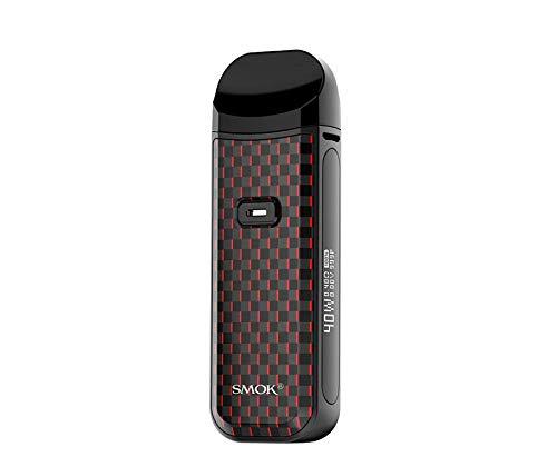 SMOK Nord 2 Vape POD E-Cigarette Vapper Kit 40W (Red) No Nicotine