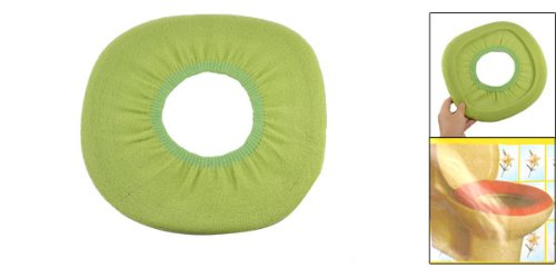 Para inodoro del closestool verde forro polar funda para for Inodoro verde