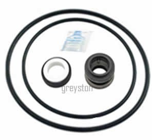 Purex / Pentair (A & AH) (PUR002) Swimming Pool Pump Shaft Seal & O-ring Rebuild Kit. For QUICK, EASY and SMART swimming pool pump -