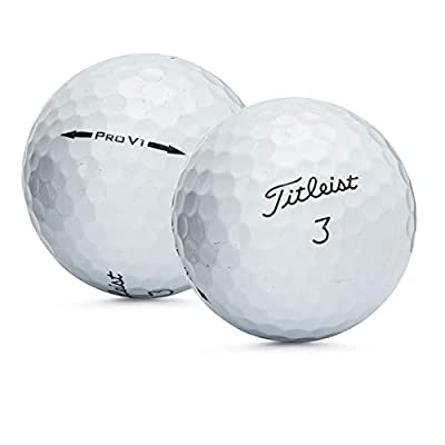 50 Near Mint Titleist Pro V1 AAAA Recycled Used Golf Balls, 50-Pack from Golf Ball Divers