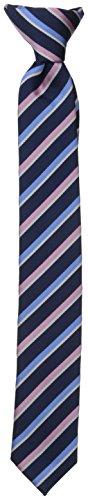 Dockers Big Boys' Striped Clip On Tie - Tie Multi Striped