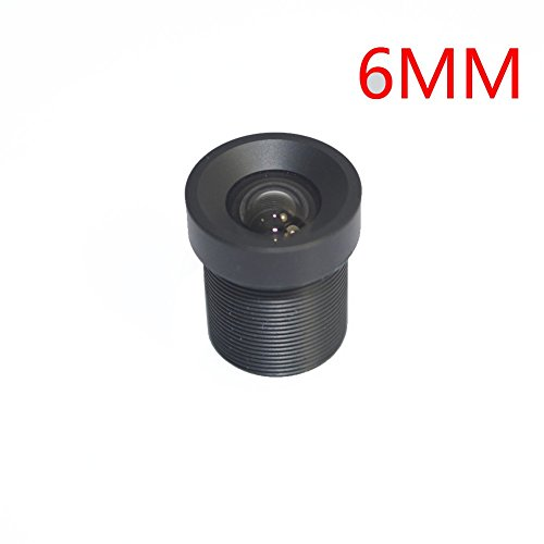 Xenocam 6mm Focus Length Fixed Board Lens for CCTV Camera