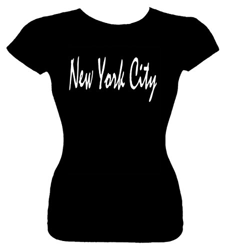 Junior's Size M T-Shirt (NEW YORK CITY (NYC, NY)) Fitted Girls Shirt (Party City Las Cruces)