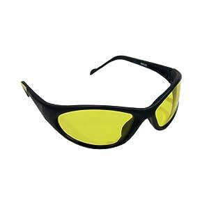 Vaughan 597-33 SV4300 Amber Full Frame Wrap Around Protective Eyewear