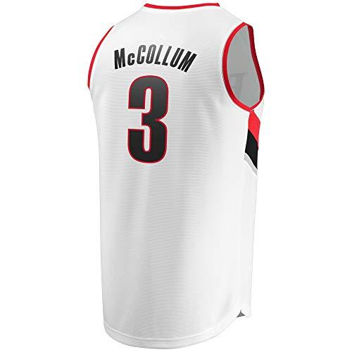 Comfase Men's_C.J_McCollum_White_Swingman_Jersey