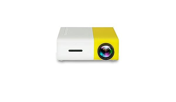 Mini proyector, LED portátil Proyector LCD Teatro de Cine en casa ...