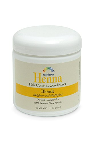 Botanical Hair Color - Rainbow Research Henna Botanical Hair Color and Conditioner, Persian Blonde, 4 Ounce