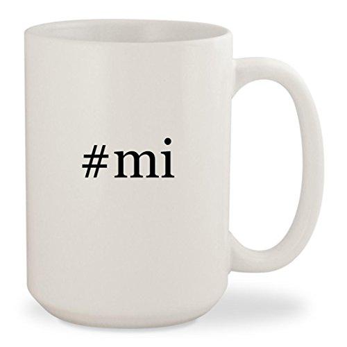 Price comparison product image #mi - White Hashtag 15oz Ceramic Coffee Mug Cup