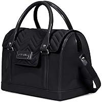 PJ3903 - Bolsa Bloom Bag Petite Jolie Preta antiga PJ1540