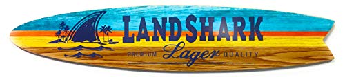 Fin Style Surfboard Landshark Sign - 4 Foot