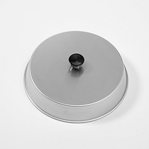 Aluminum Dome - American Metalcraft BA1040A Round Aluminum Basting Cover & Melting Dome, 10-Inch