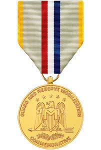 Medals of America National Guard and Reserve Mobilization Commemorative Medal Anodized