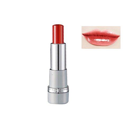 Weite Gradient Lipgloss Matte Glossy Lip-gloss 8 Colors Women Lady Essential Sexy Long-lasting Waterproof Lipstick Lip Cream (D)