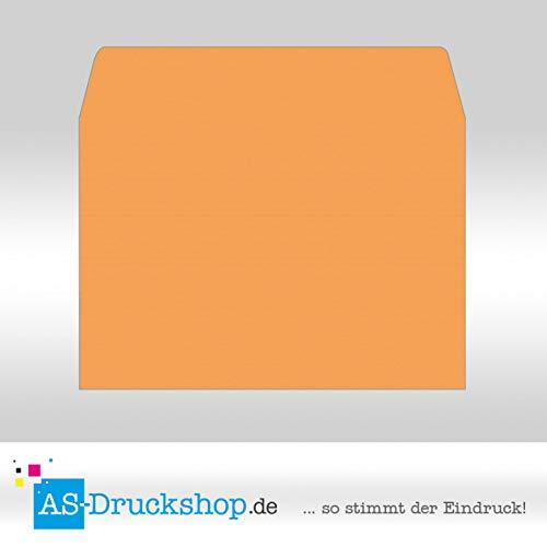 Briefumschlag KuGrün - Mango - mit Seidenfutter DIN DIN DIN C4   50 Stück B0794Y5VT6 | Zarte  38337e
