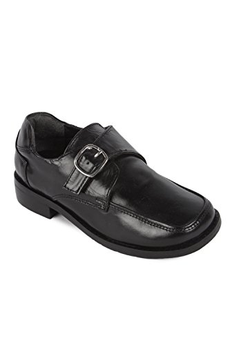 Gliders from Liberty Big Boys' Leather School Shoe Size 5 UK/Age 8-12 Years/Length 23.5Cm Black Black Kid Leather Footwear