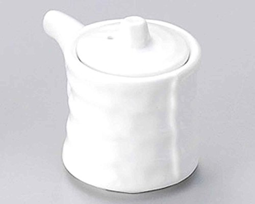 Tuzumi 2.4inch Set of 10 Soy Sauce Dispensers White porcelain Made in Japan by Watou.asia
