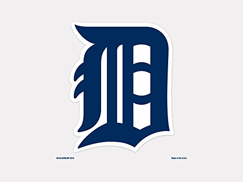 Detroit Tigers Decals (MLB Detroit Tigers 93918010 Perfect Cut Color Decal, 4