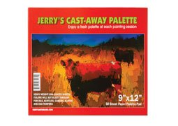 Jerry's Cast Away Paper Palette Pad 9x12'''' by Creative Mark