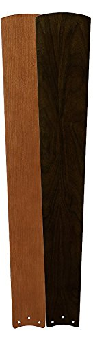 Fanimation B7966CYDWA Kellan Ceiling Fan Reversible Blade Set of Two-Cherry/Dark Walnut by Fanimation