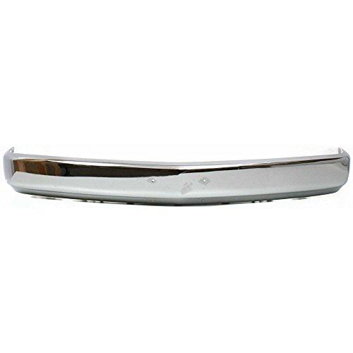 Bumper for GMC C/K Full Size P/U 88-02 Front Bumper Face BarChrme w/License Plate Holes