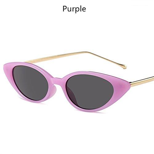 C4 Gafas Gafas Tonos Clásicas Marca Mujer Femeninos Bastidor Oval KLXEB Sol C7 Metal De De Wqw0Bfp6