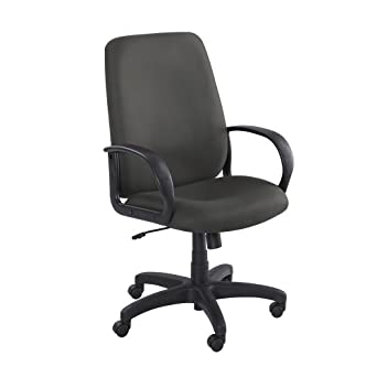 saf6300bl safco poise collection executive high back chair amazon