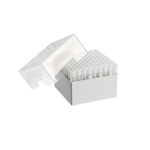 Eppendorf 0030140567 Storage Box for 81 Screw Cap Cryogenic Tubes 4-5mL, 9'' Length, 9'' Width, 4'' Height (Pack of 2) by Eppendorf (Image #1)