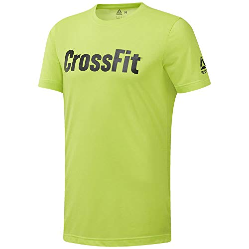 T Giallo Fef shirt Crossfit Ss19 Training Reebok q1Wga4STg