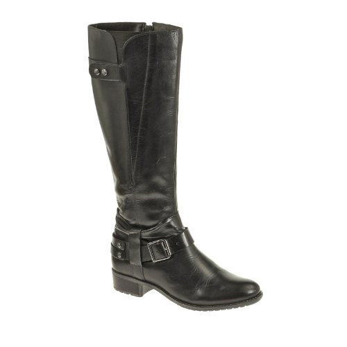 "Hush Puppies Champer 14 ""Wide botas de media Black"