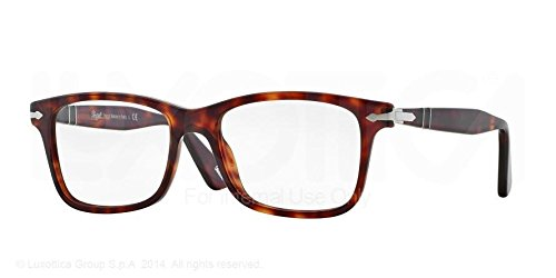 Persol PO 3014VM Geometric acetate Sunglasses, Havana, - Sunglasses Prescription Persol