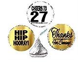 27th Birthday / Anniversary Cheers Hooray Thanks