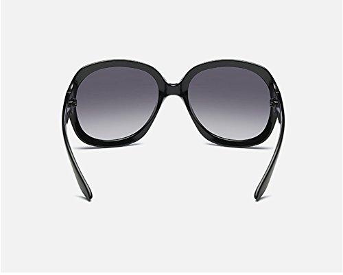 Noir Lunettes De Box 1pcs noir Mode À Pour Soleil Big Polarisées Demarkt Violet Hilton La Femmes q5TnZw4Zx