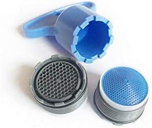Grifo aireador de agua con rosca macho de 18,5 mm 2 unidades A
