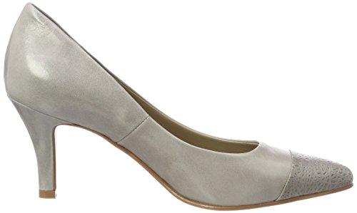 Pump nica Gris Tacón de 1 Cerrada NOE Mujer con Antwerp Zapatos 111 Cemento Punta para Cemento q4nRE