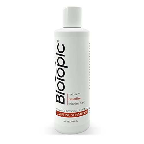 Biotopic Hair Loss Shampoo with Caffeine - Powerful All-Natural DHT Blockers for Thicker