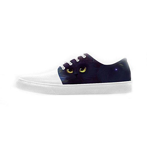 Custom Gatti di pittura Womens Canvas shoes Le scarpe le scarpe le scarpe.