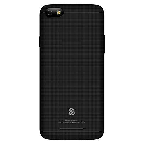 BLU Studio Mini -5.5HD Smartphone, 32GB+2GB Ram -Black (Renewed)