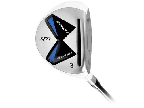 Affinity XRT Fairway Golf Wood (Men's, Left Hand, Graphite, Uniflex, 15-Degree), Outdoor Stuffs