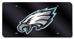Philadelphia Eagles Laser License Plate (Rico Philadelphia Eagles Team Laser Tag- Black)