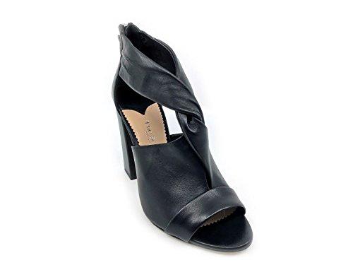 De Mode Noires Femmes De Le Vendeur Des Vendeur Sandales Le XqFFTY