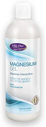 Life-flo Magnesium Body Gel | Pure Magnesium Chloride Soothes & Relaxes Muscles & Joints | Perfect for Massages | 16 oz