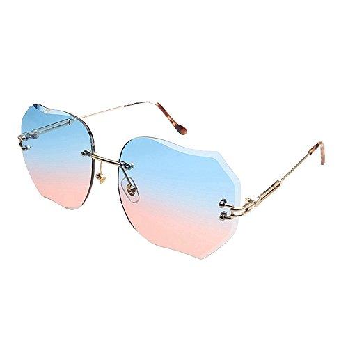 Gafas color de Shop 6 sol de gafas sin metálicas sol sol de gafas de de Gafas sol marco sol Las gafas Cuatro sombrillas de r4qIqTF