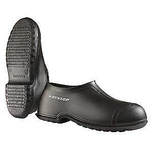 Overshoes, Mens, XL, Pull On, Blk, PVC, PR