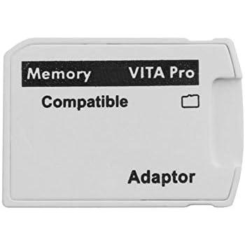 Amazon.com: Adaptador de tarjeta SD2Vita V3.0 PSVita a ...