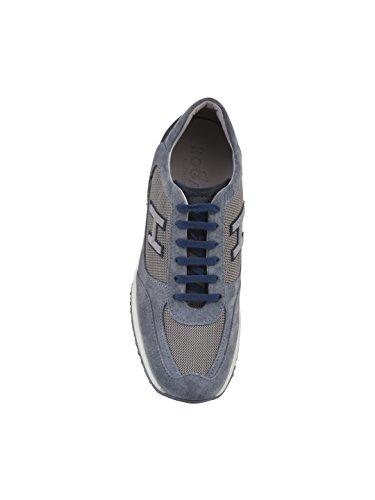 Bajo Precio 100% Original Hogan Sneakers Uomo HXM00N0Q102H5IOPC9 Camoscio Blu Encontrar Grandes Para La Venta Falso Comprar Suministro Barato 06aEpXkwr