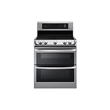 LG LDE4413ST 30 Stainless Steel Electric Smoothtop Double Oven Range